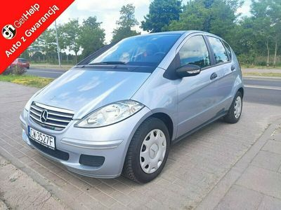 używany Mercedes A150 1.5 benzyna klima Zarejestrowany w Polsce Gwarancja W169 (2004-2012)
