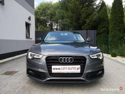 używany Audi A5 II 2.0 TDI S-LINE 177KM # LIFT # Serwis # BiXenon # Ledy # Navi