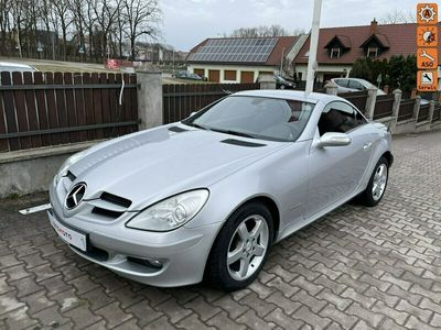 używany Mercedes SLK200 cabrio idealny opłacony z Niemiec 163 ps R171 (2004-2011)
