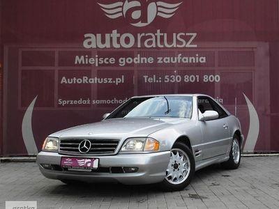 używany Mercedes SL500 Klasa SL R129 500 HARD TOP Bezwypadkowy oryginalny przebieg 90 TYŚ MIL