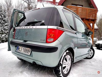 używany Peugeot 1007 1.4HDi 75KM ClimatRonic MAX OPC Zarejestrowany