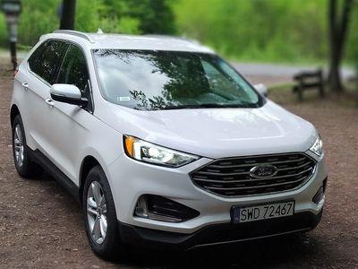 używany Ford Edge 2,0 Ecoboost 2019 BIAŁA PERŁA, niski przebieg