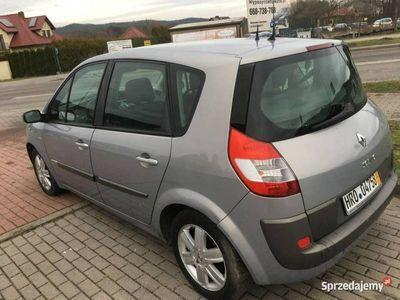 używany Renault Scénic II 1.9dm 120KM 2005r. 200 000km