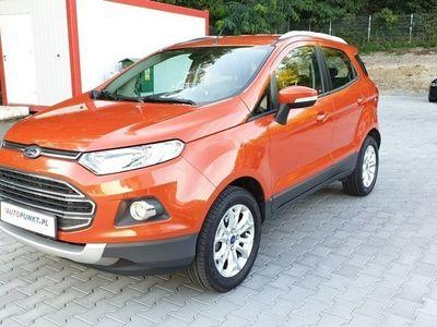 używany Ford Ecosport 1dm 125KM 2017r. 19 619km