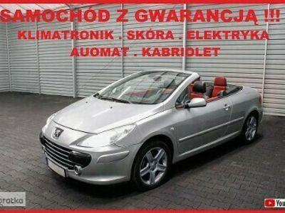 używany Peugeot 307 CC 307 II AUTOMAT + Klimatronik + SÓRA + Parktronik !!!