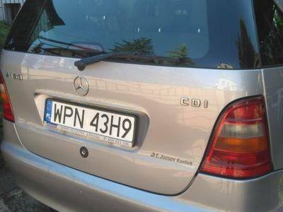 używany Mercedes A160 Klasadiesel szyberdach