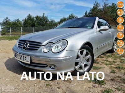 używany Mercedes CLK200 1.8dm 163KM 2003r. 178 000km