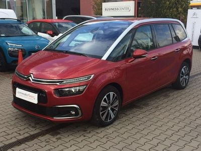 używany Citroën Grand C4 Picasso Picasso 1.9dm3 150KM 2017r. 8 900km Gr. BlueHDi Shine S&S HDI ABS automatyczna klima.
