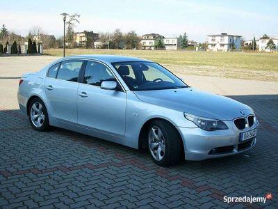 używany BMW 520 2.2 Benzyna Manual Alufelgi 17C KS.Serwisowa do końca GWARANCJA sedan E60 (2003-2010)