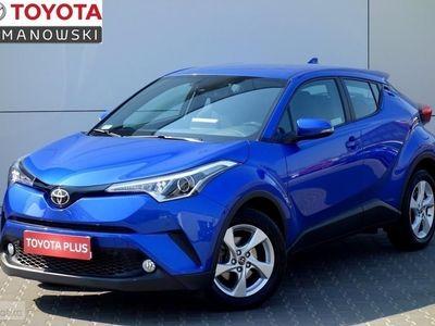używany Toyota C-HR Salon Polska: 1.2T Premium+czujniki parkowania z gw. fabr. II-2021