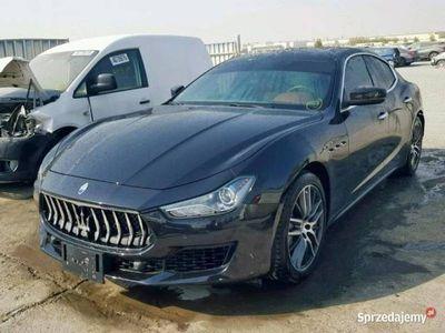 używany Maserati Ghibli 3dm 350KM 2018r. 9 377km
