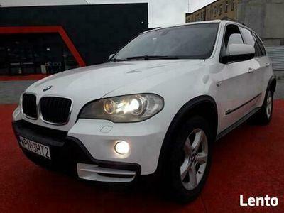 używany BMW X5 3.0 benzyna 272 KM BIAŁA Jasne Wnętrze Okazja