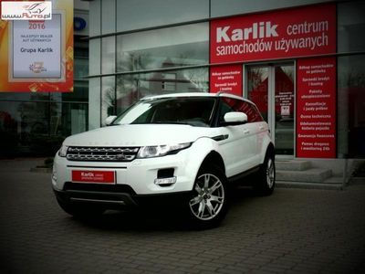 używany Land Rover Range Rover evoque 1.9 2013r.