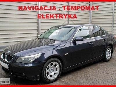 używany BMW 520 SERIA 5Navigacja + Klimatronik + Elektryka + Tempomat !!!