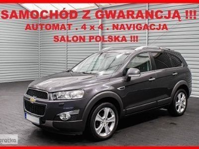używany Chevrolet Captiva II LTZ + AUTOMAT + Salon PL + 7 Osób + Navi + SERWIS !!!