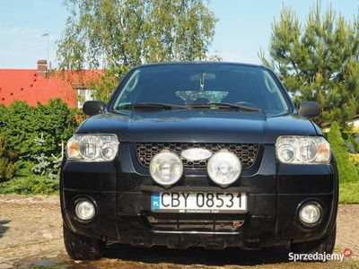 używany Ford Maverick 4x4 2967 cm3 149 kW beznzyna + LPG 2007 przebi