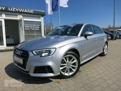 używany Audi A3 1.5 TFSI 150KM, S-TRONIC, SALON PL, ASO, FV23%