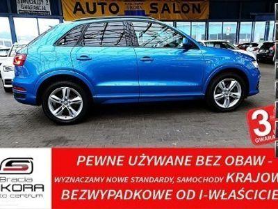 używany Audi Q3 I (8U) 3 LATA Gwarancja I-WŁ Kraj Bezwypadkowy 180KM QUATTRO S-Line FV23%
