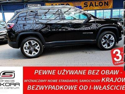 używany Jeep Compass II 3 Lata GWARANCJA I-wł Kraj Bezwypadkowy 4x4 170KM Limited vat 23%