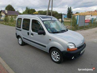 używany Renault Kangoo Opłacony Zdrowy Zadbany Pnorama Alusy 130 Aut na Placu I (1998-2003)