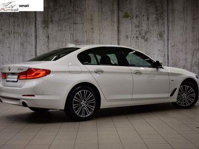 używany BMW 520 seria 5 2dm3 190KM 2017r. 39 110km d xDrive Limuzyna | Sport Line | Salon Inchcape Poznań