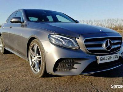 używany Mercedes E220 2dm 194KM 2016r. 155 000km