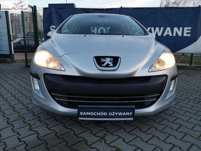 używany Peugeot 202 308 1.5dm3 90KM 2010r.362km HDi Trendy HDI ABS automatyczna klima.