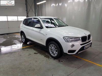 used BMW X3 X3 2dm3 150KM 2017r. 18 671kmsDrive18d Advantage aut