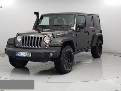 used Jeep Wrangler 2.8dm3 200KM 2017r. 26 323km 2.8 CRD Unlim. Rubicon aut S.T 5DR PO3FC09
