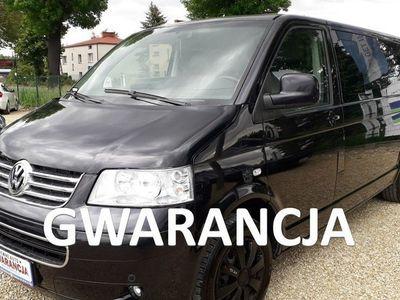 używany VW Caravelle 9 osób long skóra klima 130KM GWARANCJA
