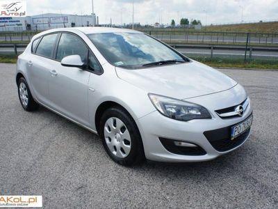 używany Opel Astra 1.4dm3 120KM 2015r. 119 800km Salon Polska VAT Serwis