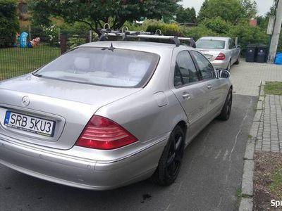 używany Mercedes S500 S Klasaw220 V8 LPG
