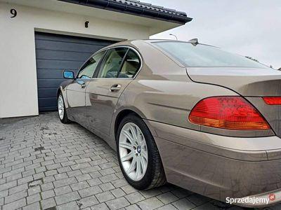 używany BMW 730 E65 d 2003r Kalahari Beige