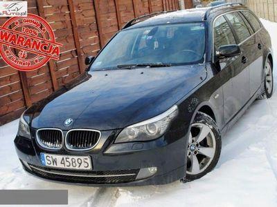 używany BMW 501 seria 5 2dm3 210KM 2008r.750km 520d LCI Bi Ksenon Pakiet Sport PDC Nawigacja Nowy Rozrząd