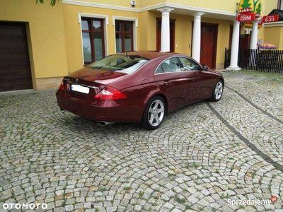 używany Mercedes CLS500 LPG full opcja, jasne skóry, Pneumat