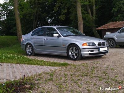 używany BMW 323 E46 i sedan PDC, multifunkcja, m-sport, tempomat