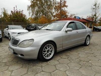 używany Mercedes S320 3.2dm 197KM 2000r. 305 000km