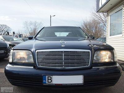 używany Mercedes S300 Klasa S W140176KM AUTOMAT SKÓRY PEŁNA ELEKTRYKA ALU-FELGI