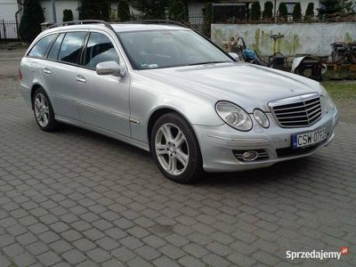 używany Mercedes E320 Avantgarde