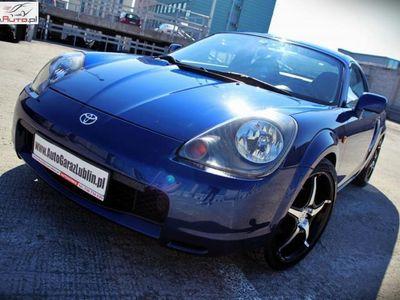 używany Toyota MR2 1.8dm3 140KM 2000r. 198 000km 1.8 140KM! RARYTAS! HARDTOP! Manual*Klima*Alumy!!