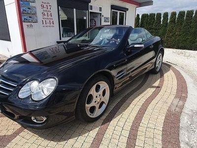 używany Mercedes SL500 Klasa SL R230 500 2005rEuropa cabrio kabriolet zarejestrowany bogata wersj