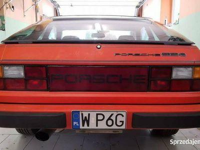używany Porsche 924 2,0 1978r klima, niski przebieg, ORYGINALNY laki