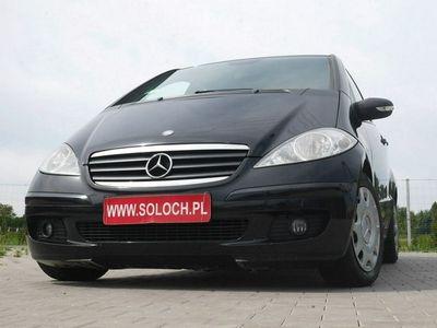 używany Mercedes A160 2dm 82KM 2007r. 222 000km