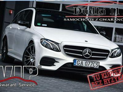używany Mercedes E350 5d DUDKI11 Pakiet AMG,Serwis,Skóry,Zarej w PL,Brutto - VAT,GWARANCJA W213 (2016-)