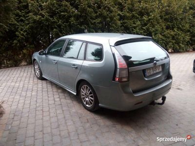 używany Saab 9-3 2,0 benzyna-zarejestrowany 2009 rok