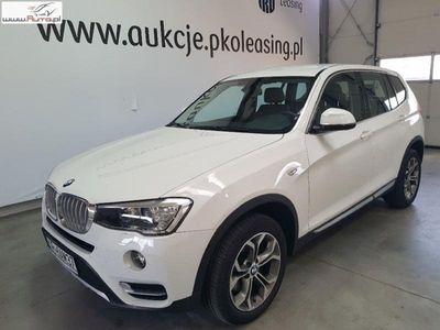 used BMW X3 X3 2dm3 150KM 2017r. 17 927kmsDrive18d xLine aut