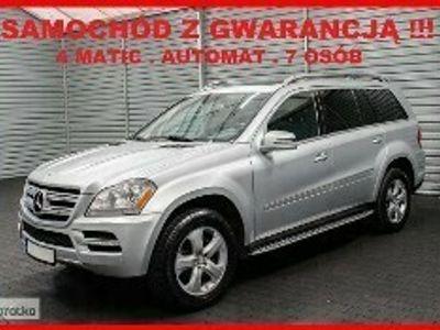 używany Mercedes 450 Klasa GL X164AUTOMAT + 4 MATIC + 7 osób + Navigacja + Klimatronik !!!
