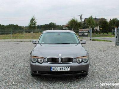 używany BMW 730 3,0 D #Tempomat #Klimatyzacja # Serwisowany E65/66 (2001-2008)