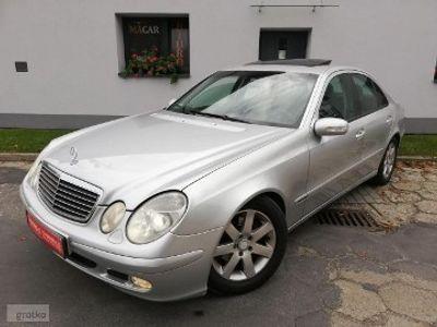używany Mercedes 220 Klasa E W211cdi - sedan - manual - szyberdach - klima - Xenon - zadbany