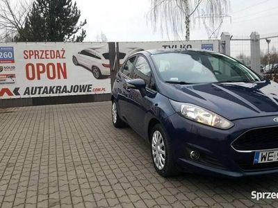 używany Ford Fiesta VI 1.25 benz 82KM, 75 tys km, 1 wł, salon PL, FV 23%, gwarancja, Łódź